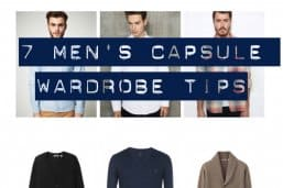 7 Amazing Mens Capsule Wardrobe Tips
